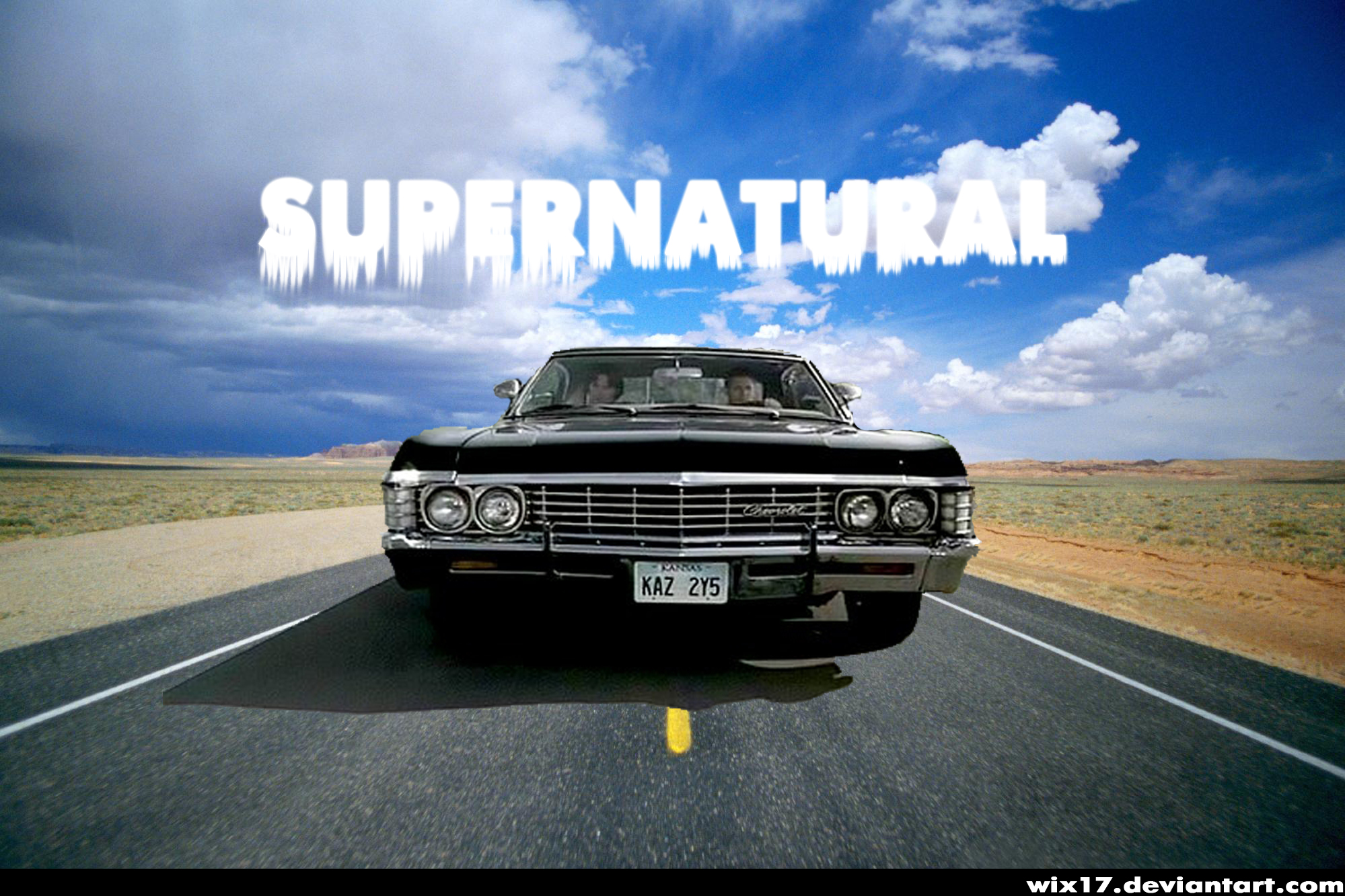 supernatural car impala wallpaper - photo #24