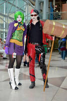 Reverse Joker and Harley Q by coolbyproxy