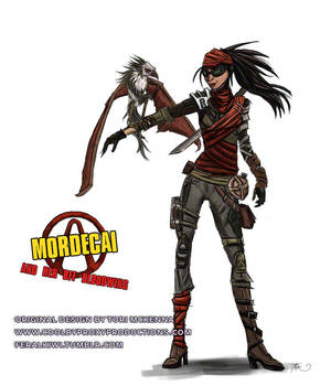 Mordecai and Her BFF Bloodwing