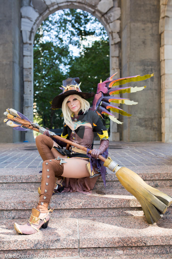 Witch Mercy by coolbyproxy