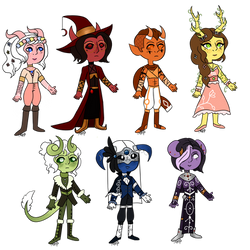 Dungeons and Dragons: Tiefling Adopts (2/7) (OPEN)