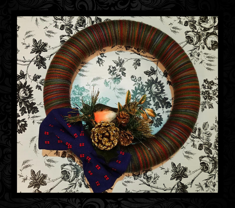 Christmas Wreath by CelestialCreamSoda