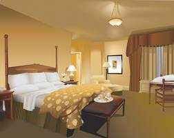 Hotel Room by CelebrenIthil