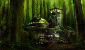 Forest Base by CelebrenIthil