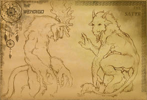 Beasts of Mythology by CelebrenIthil