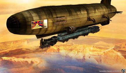 Train Dirigible