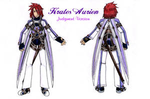 Kratos Aurion-Judgment Outfit by CelebrenIthil