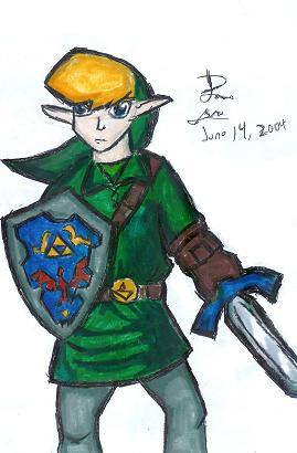 Holy crap its Link by LinkRyan