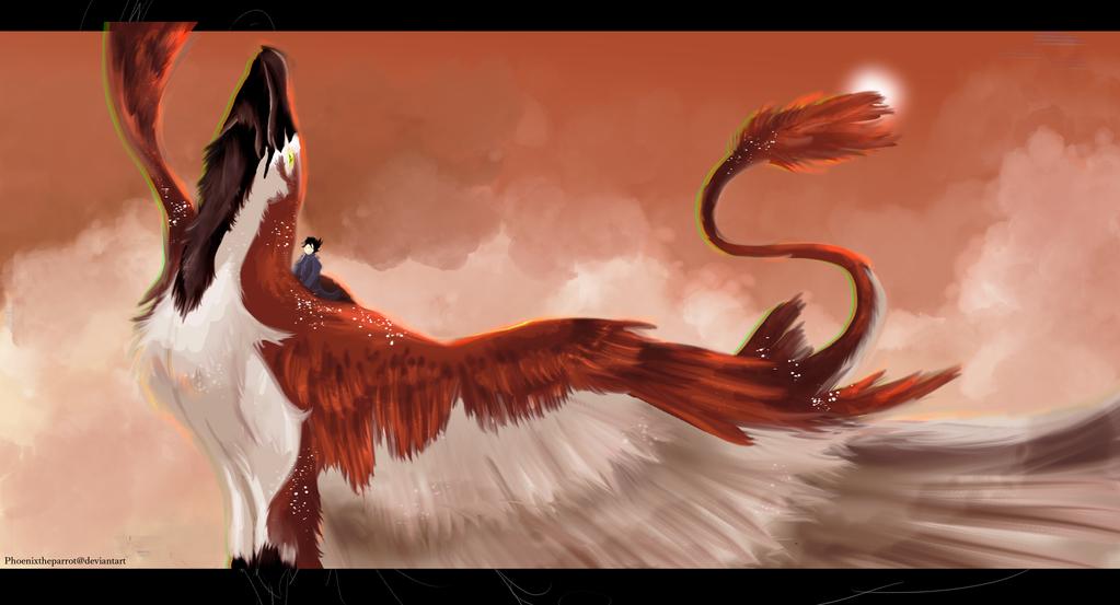 Tribute to Daius by PhoenixtheParrot