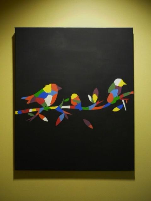 Colour Bird Family by Tash15