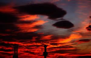 burning sky