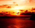 SUNSET AKA ISLAND