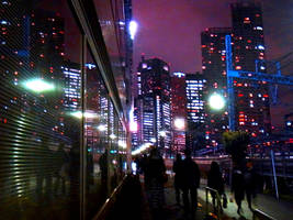TOKYO PURPLE TOWN by hirolu