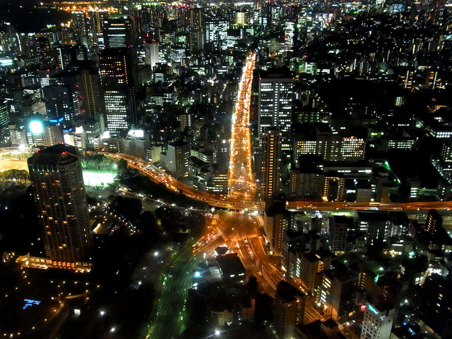 TOKYO AS SEA STAR by hirolu
