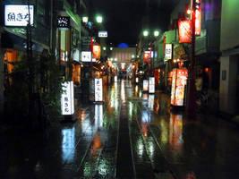 TOKYO IN THE RAIN 606 by hirolu