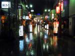 TOKYO IN THE RAIN 606