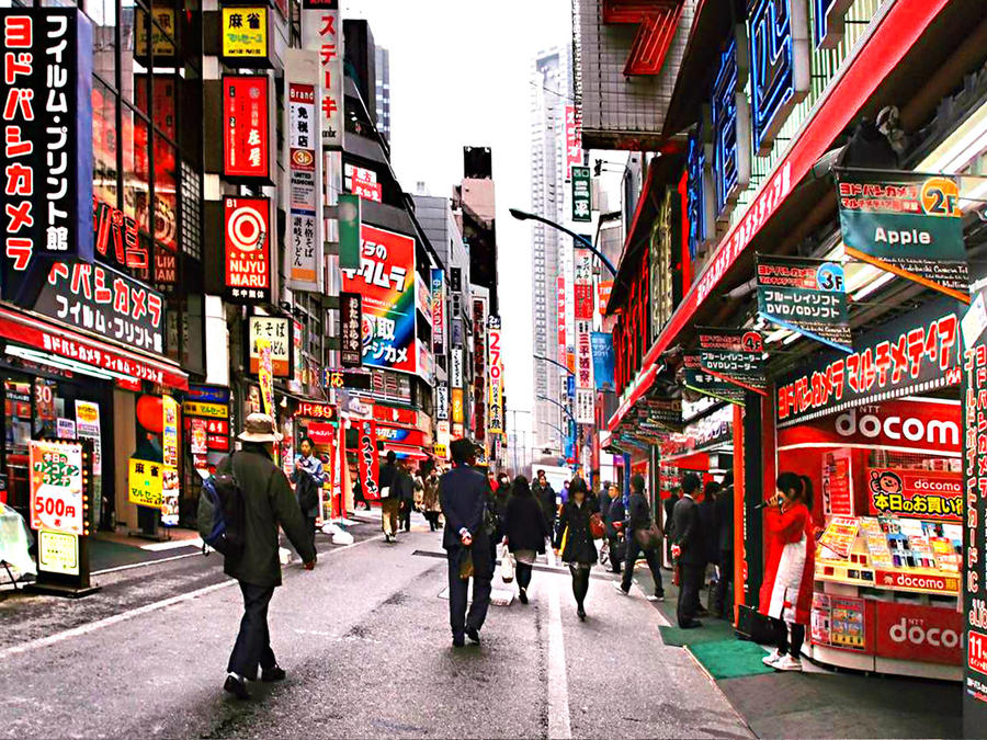 TOKYO IN THE RED