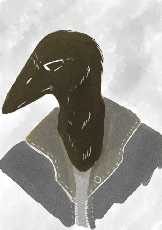 Gray Bird by chibi-1-chan
