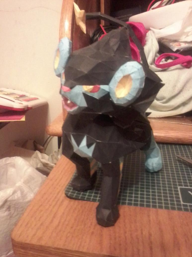 Papercraft Luxray by pokemew12