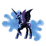 Nightmare Moon by pokemew12