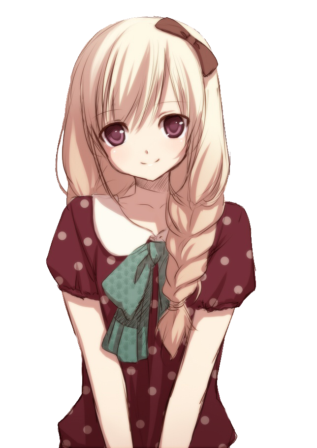 Cute Anime Girl By Natsi90 On Deviantart
