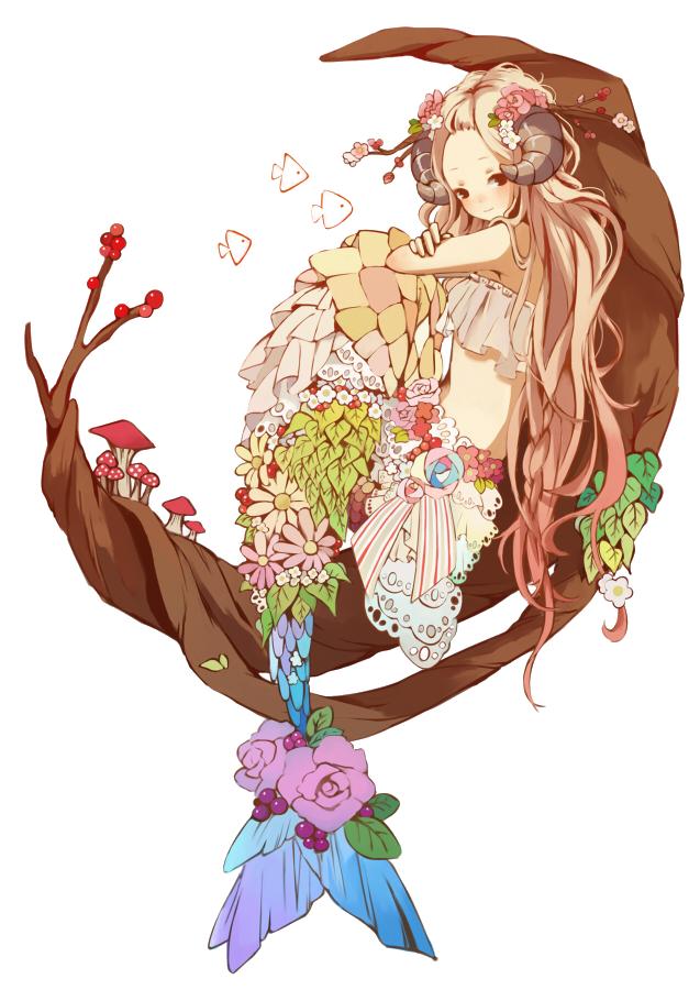 45 renders manga Mermaid_render_by_natsi90-d8eo369