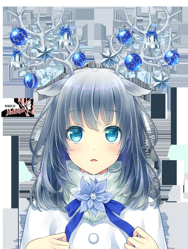Christmas Anime Render 1 by Natsi90