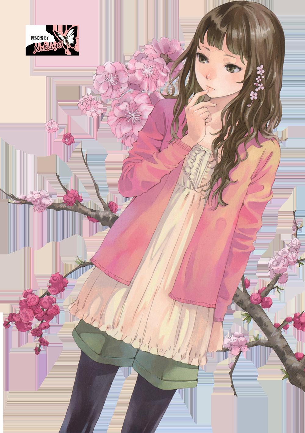 Anime Flower Girl By Natsi90 On Deviantart