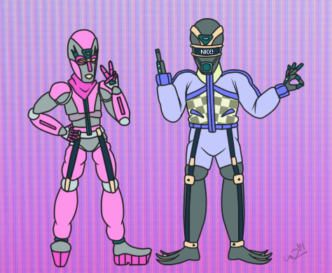 Introducing the cool robots! by Catothecat