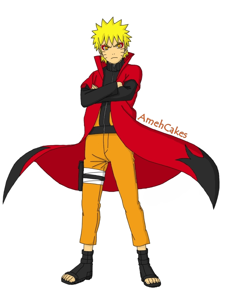 Naruto Shippuden Sage Mode Full Body