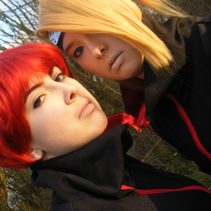 Sasori and Deidara. by AmzzCullen