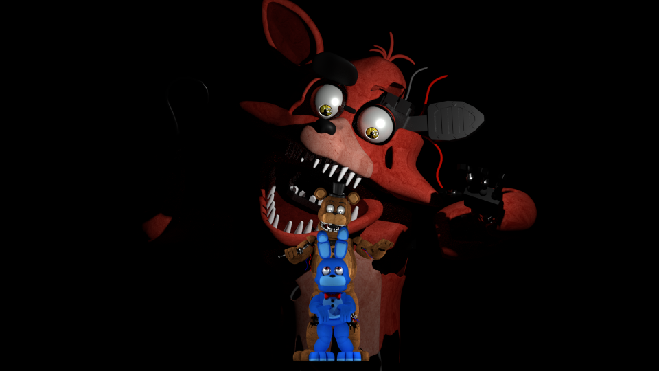 Fnaf World Update 2 Foxy Exe Five Nights At Freddy S World