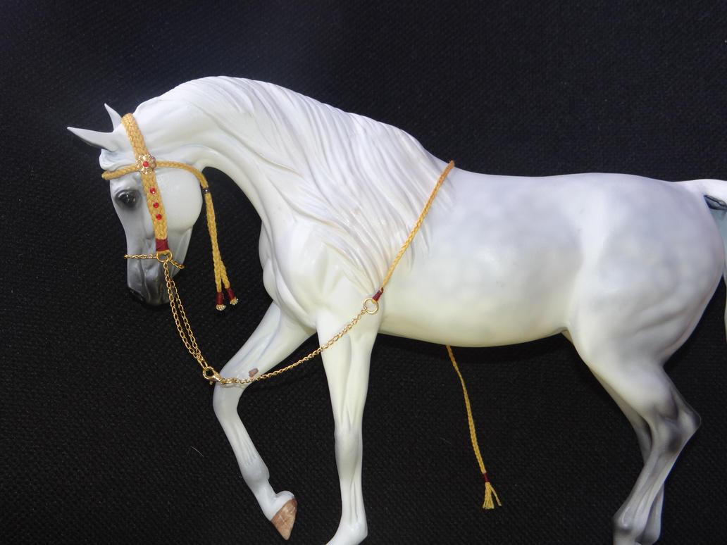 Arabian Presentation Halter by Drakulka