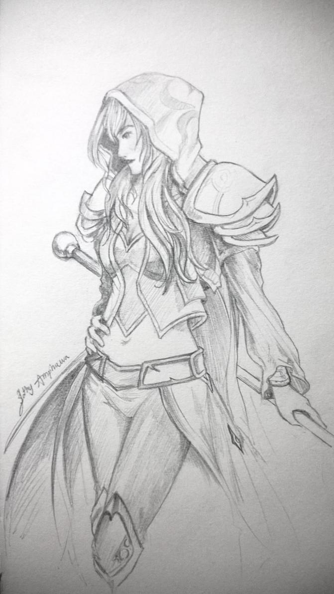 [Fan-art] Jaina Proudmoore by SlothyAmphawa