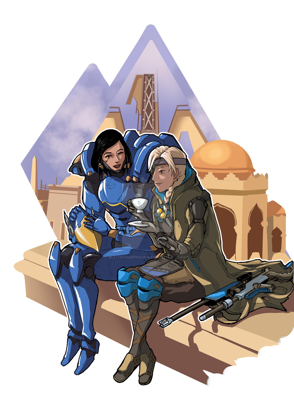 Ana amari and pharah mother and daughter best porn compilation sound - 3 1