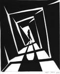 Paper cutout - Vertigo Stairs