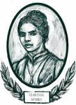 Victorian-style portrait