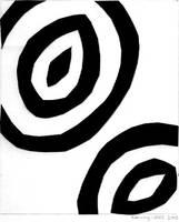 Paper cutout - imbalance by Silkenray