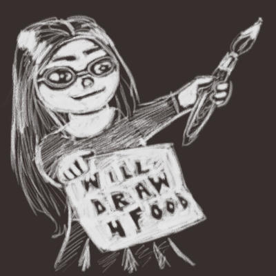 Will Draw 4 Food by Silkenray