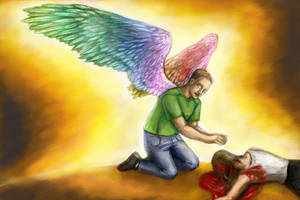 Ethan heals by Silkenray