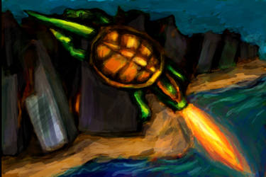 Atomic Flame Flight by Silkenray