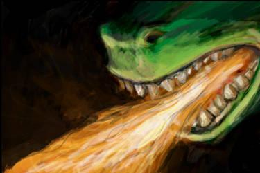Atomic Fire Breath by Silkenray