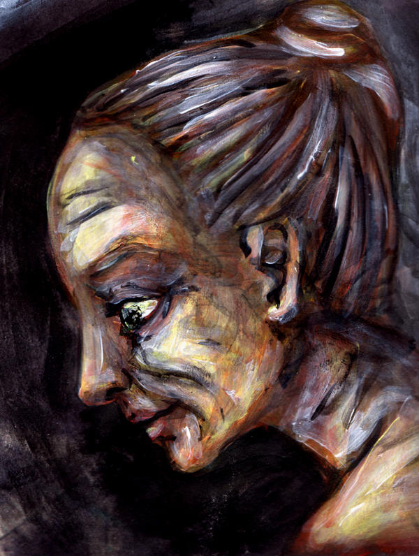 Old Woman by Silkenray