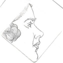 Elizabeth Gill after Eric Gill by Silkenray