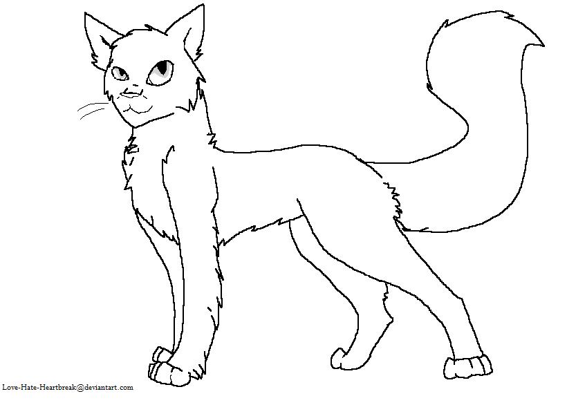 Ragdoll Cat Lineart By Love-Hate-Heartbreak On DeviantArt