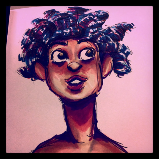 yet another lady sketch by CharlieOleChap