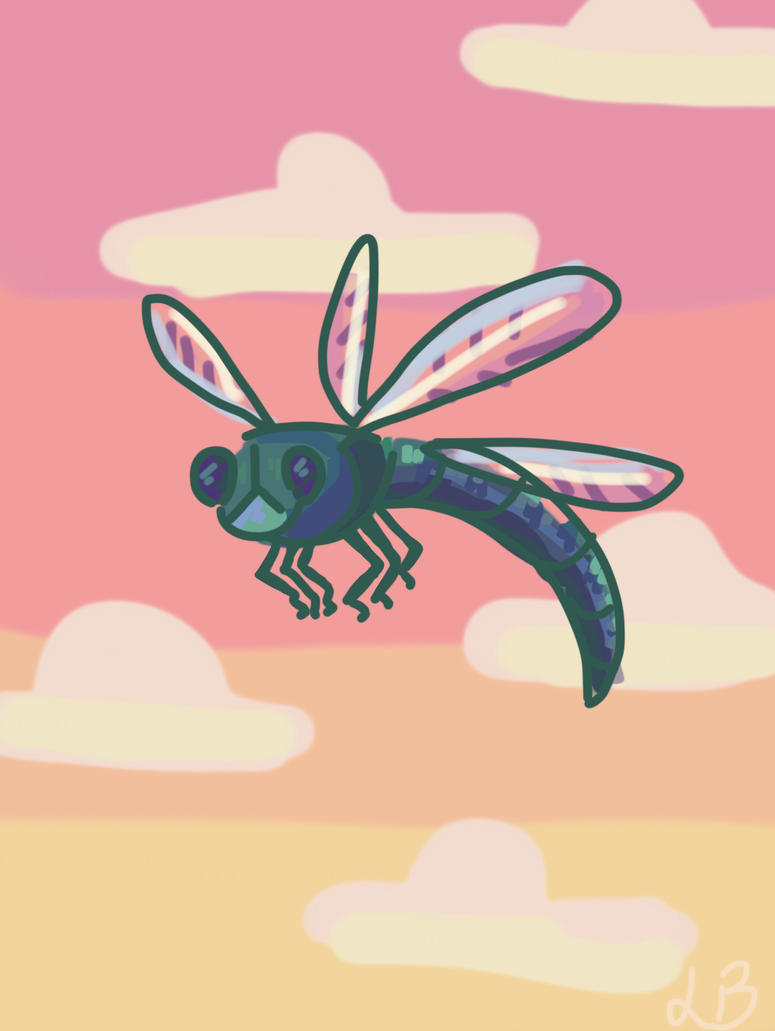 probably inaccurate dragonfly  by CharlieOleChap