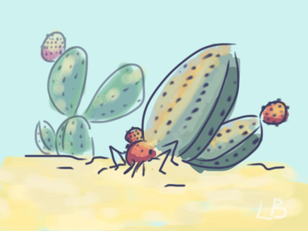 crawling cactus crab thing by CharlieOleChap