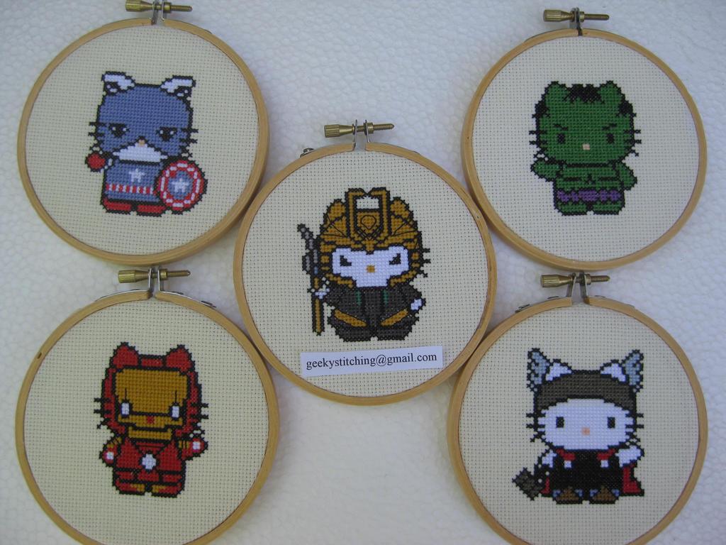 Hello Avengers! by princessmoodypants