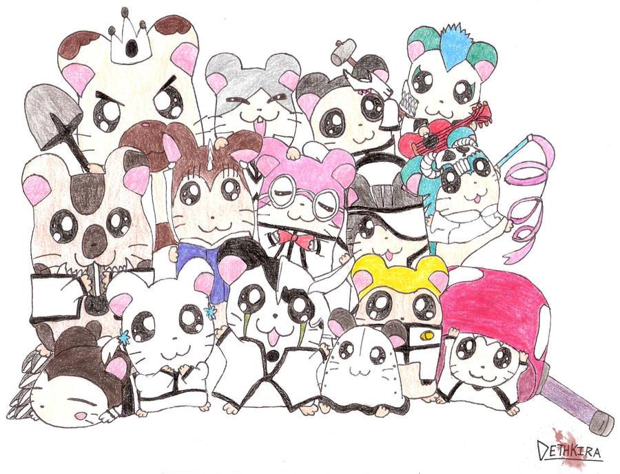 hamtaro characters panda wwwpixsharkcom images